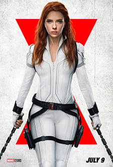 movie poster for Black Widow