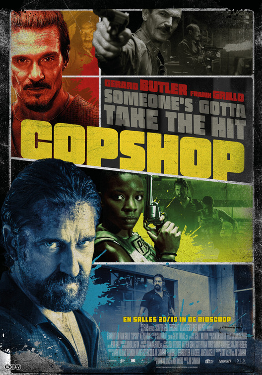 movie poster for Copshop