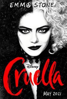 movie poster for Cruella
