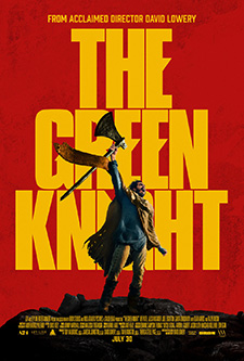movie poster for The Green Knight