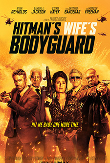 movie poster for The Hitman's Wife's Bodyguard