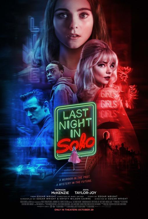 movie poster for Last Night in Soho