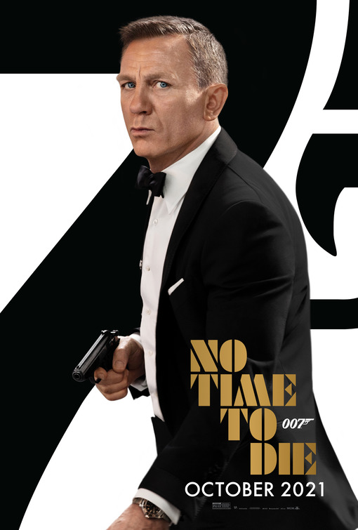 movie poster for No Time to Die