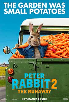 poster for Peter Rabbit 2: The Runaway