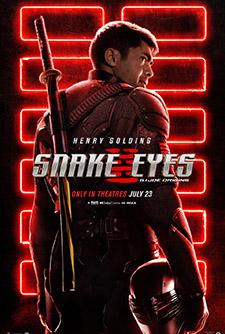 movie poster for Snake Eyes